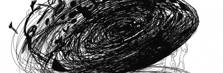 Gruppenzwang-Rebellen (Digitale Zeichnung)
