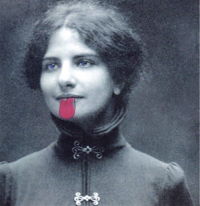 Digitale Collagen zu Ida Dehmel