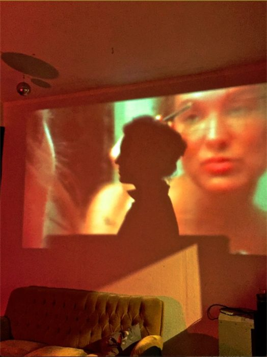 "Video-Installation auf ""48 Stunden Neukölln"" in Berlin, 2017"