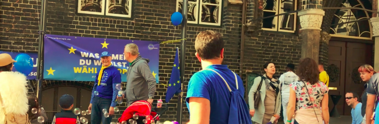 Pulse of Europe ruft zur Europa-Wahl!