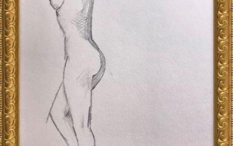 Akt-Zeichnung Nr°2