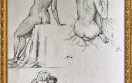 Akt-Zeichnung Nr°3