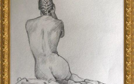 Akt-Zeichnung Nr°5