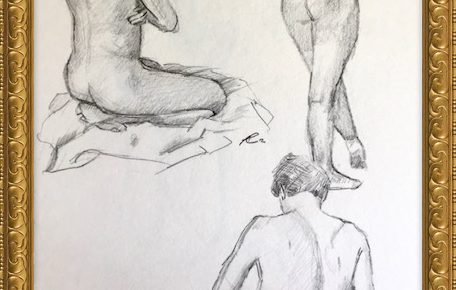 Akt-Zeichnung Nr°7