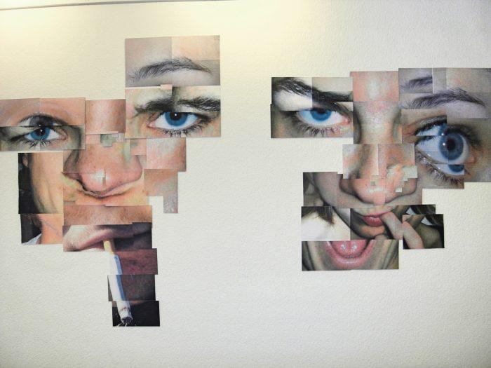 Zusammengesetztes Gesicht, Collage