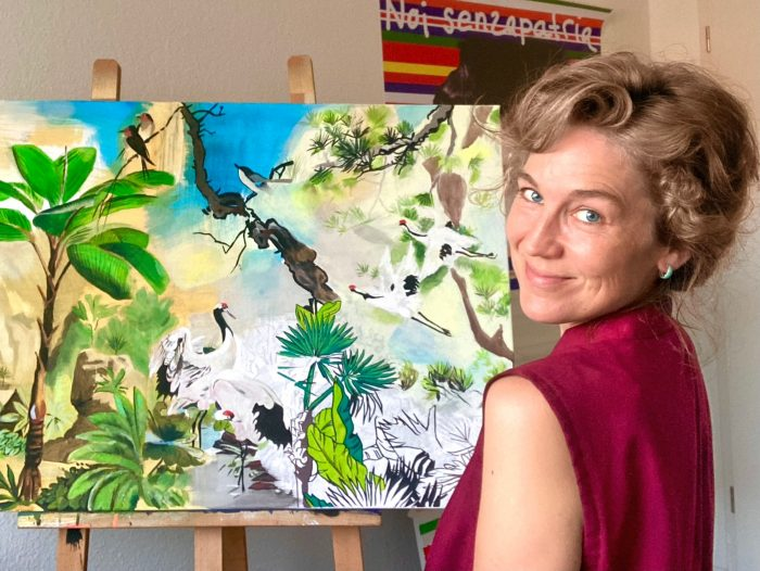Paint your dreams! – Palms and Birds